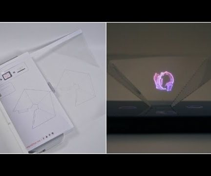 No CD case, no tape 3D hologram pyramid: the quickest and easiest way to make your own. (templates included)