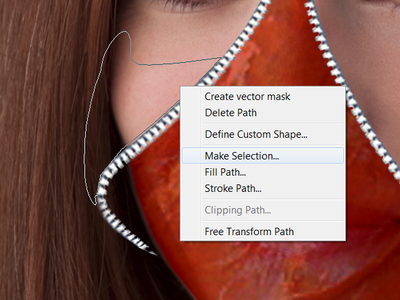 Creating a Larger Cheek and Flap of Skin