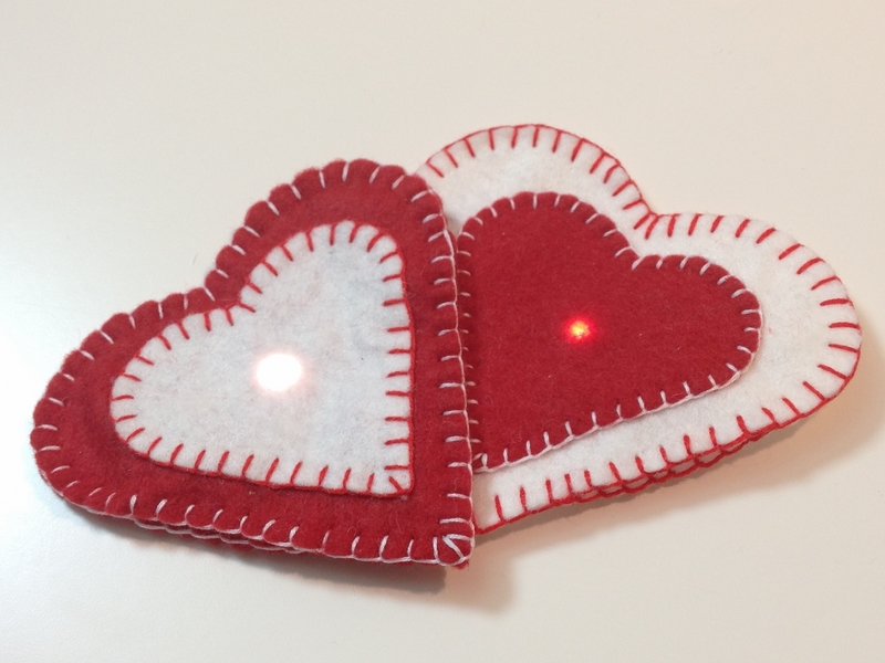 How to make Valentine Magnetic Hearts