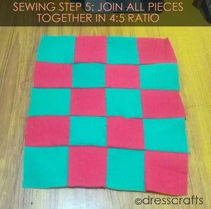 PLACEMATS SEWING STEP 5