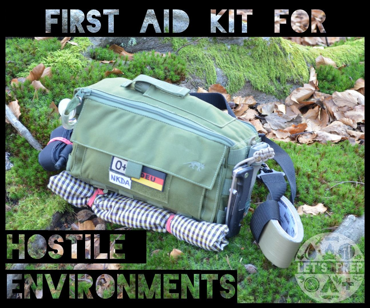 Personal First Aid Kit for Hostile Environments