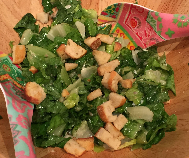How to make a homemade Caesar Salad