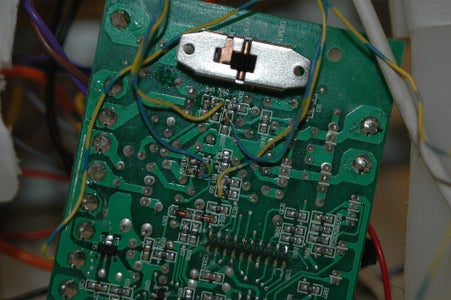 Tapping the Lines Into the Motor Control Circuit.