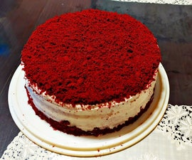 The Most Delicious Red Velvet Cake
