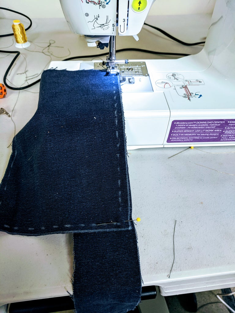 Sewing the Pouch