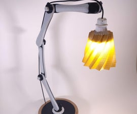 Capacitive Touch Lamp Made With Protopasta Conductive PLA