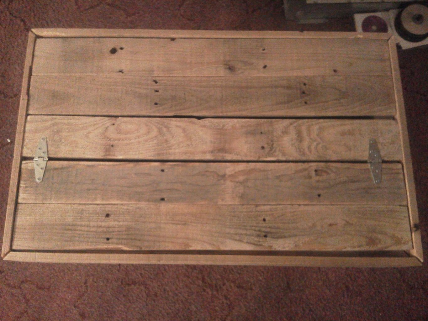 Cutting and Attaching Top/bottom Planks and Legs