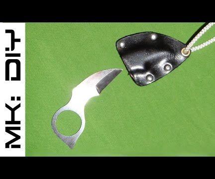 MK: DIY Neck Knife W/ ABS Sheath
