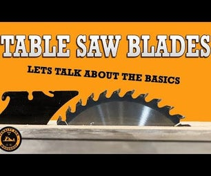 Choosing the Right Table Saw Blade - Beginner Woodworking
