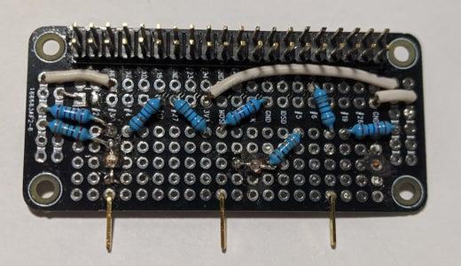 Raspberry Pi Zero Garage Door Opener Hardware