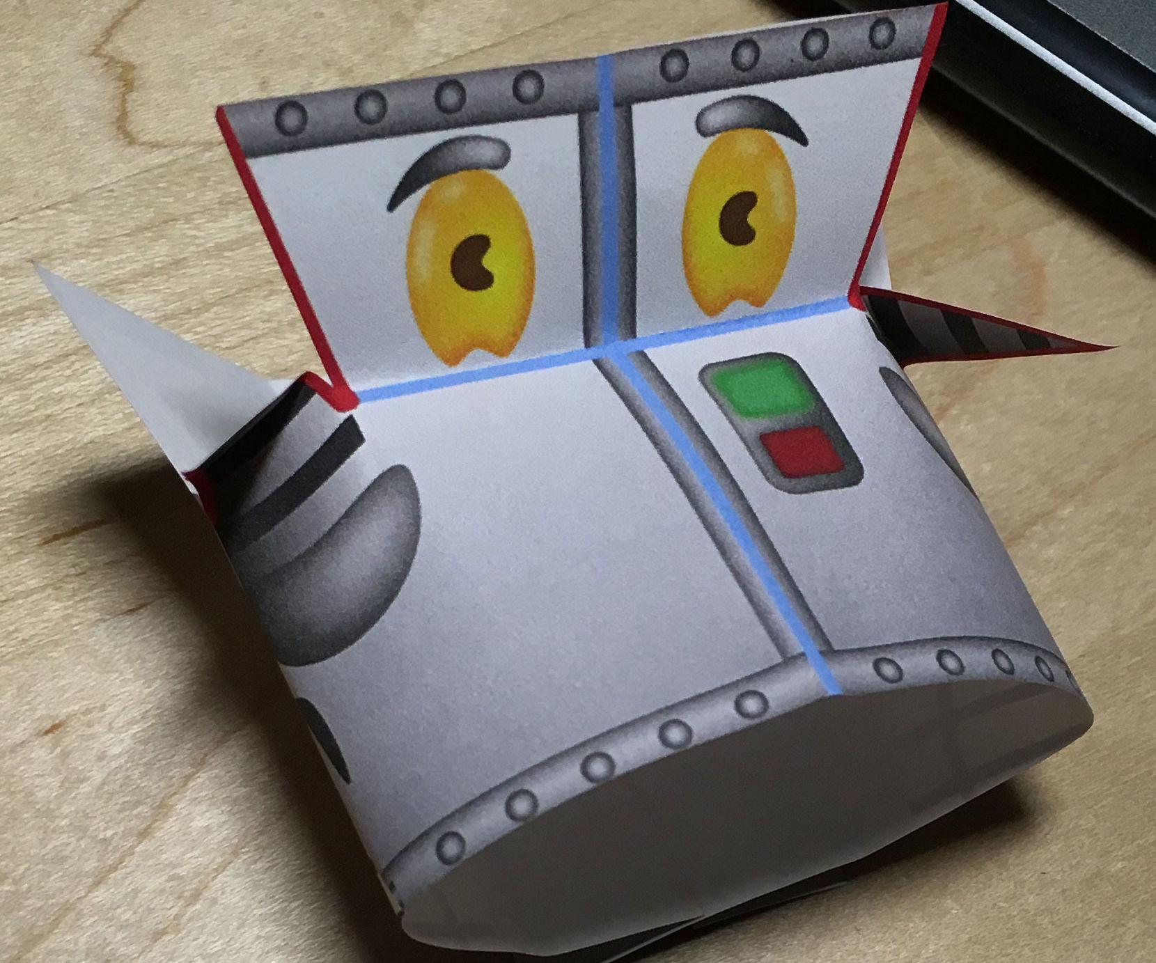Lil' Buddy Paper Robot