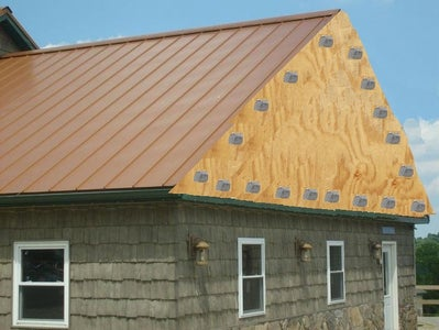 Cover Up/ Reinforce Gables and Their Overhangs