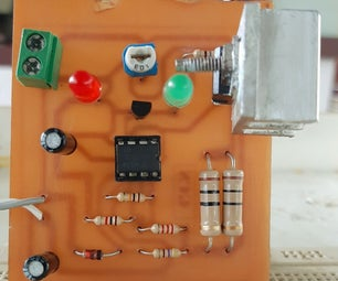 Simple 4V Lead Acid Battery Charger With Indication