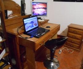 Make a Desk Out of Your Dresser Drawer