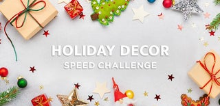 Holiday Decorations Speed Challenge