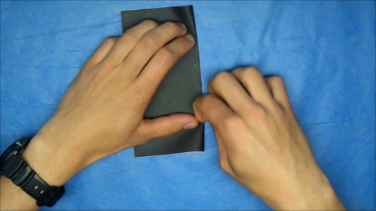 Fold the Paper in Half Both Ways