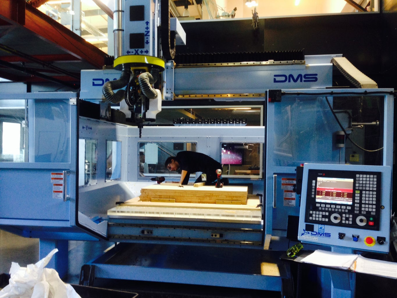 Flip Machining on the DMS CNC Router