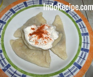 Homemade Pierogi With Bison Meat Filling
