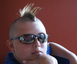 How to Cut a MOHAWK Hairdoo... and How to Dye That Bad Boy!
