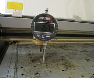 High Precision Table Alignment on Your Laser Cutter Made Easy! Make the Tool.