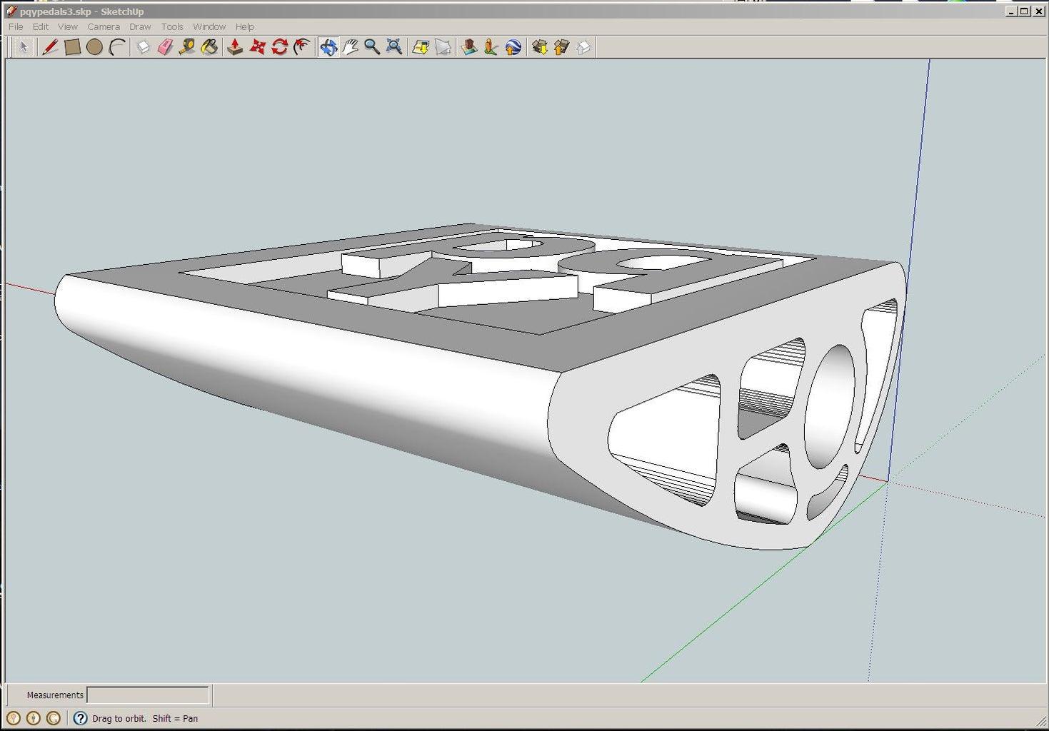 3D Pedals...