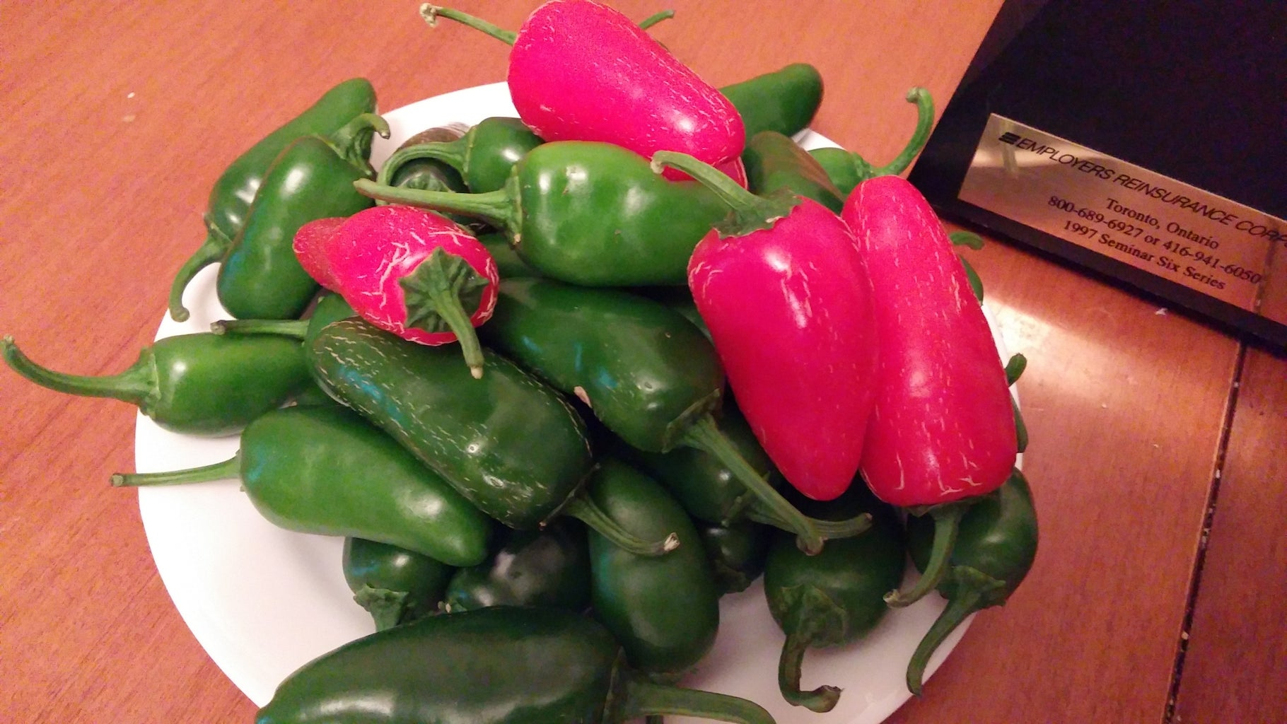 Dehydrate Your Peppers