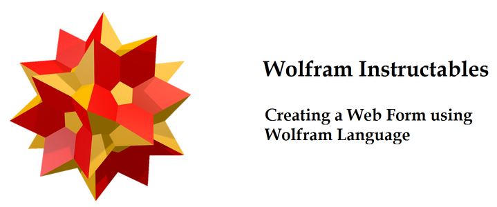 Creating a Web Form in Wolfram Language