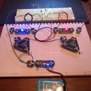 Astable multivibrator (LED flasher) with Circuit Scribe