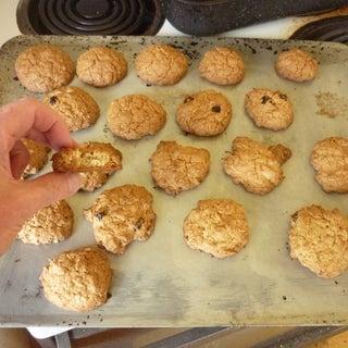 Oatmeal-Coconut Cookies