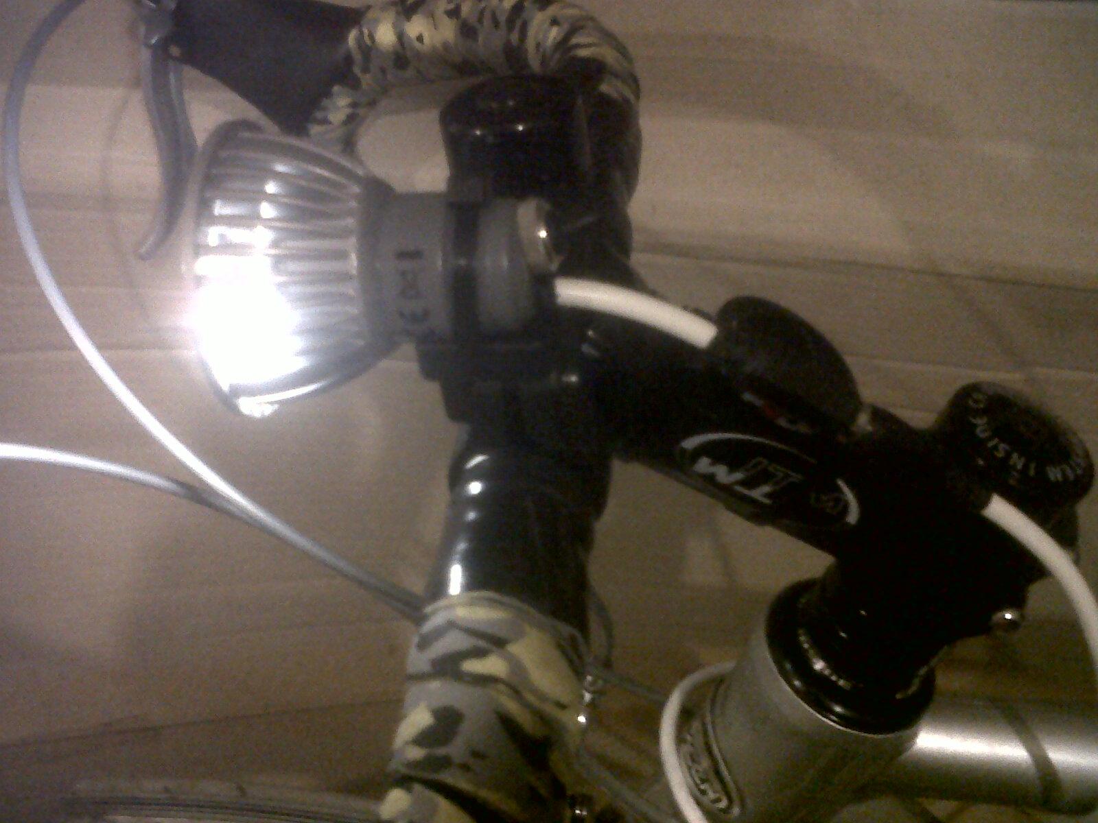 700 cd LED Bike Light - from OSRAM Spotlight