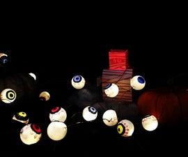 DIY Eyeball String Lights