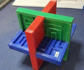 3D Printed Labyrinth Maze
