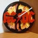 AC/DC Clock