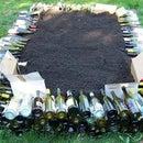 Wine Bottle Raised Beds