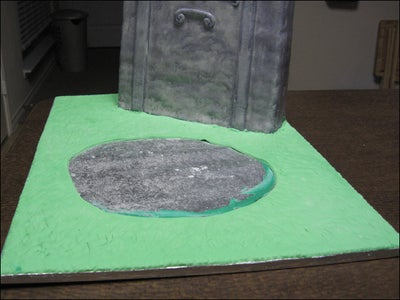 Add Some Grass/ground to the Main Cake Board Base.