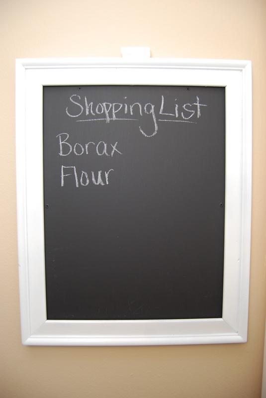 Picture Frame Chalkboard