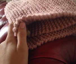 Chunky Knitted Scarf