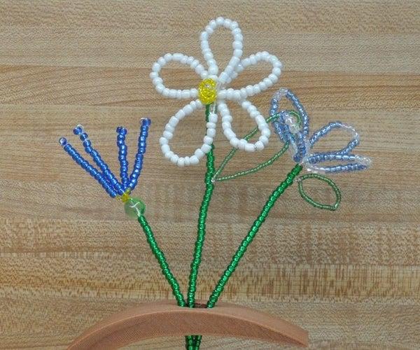Glass Bead Flowers