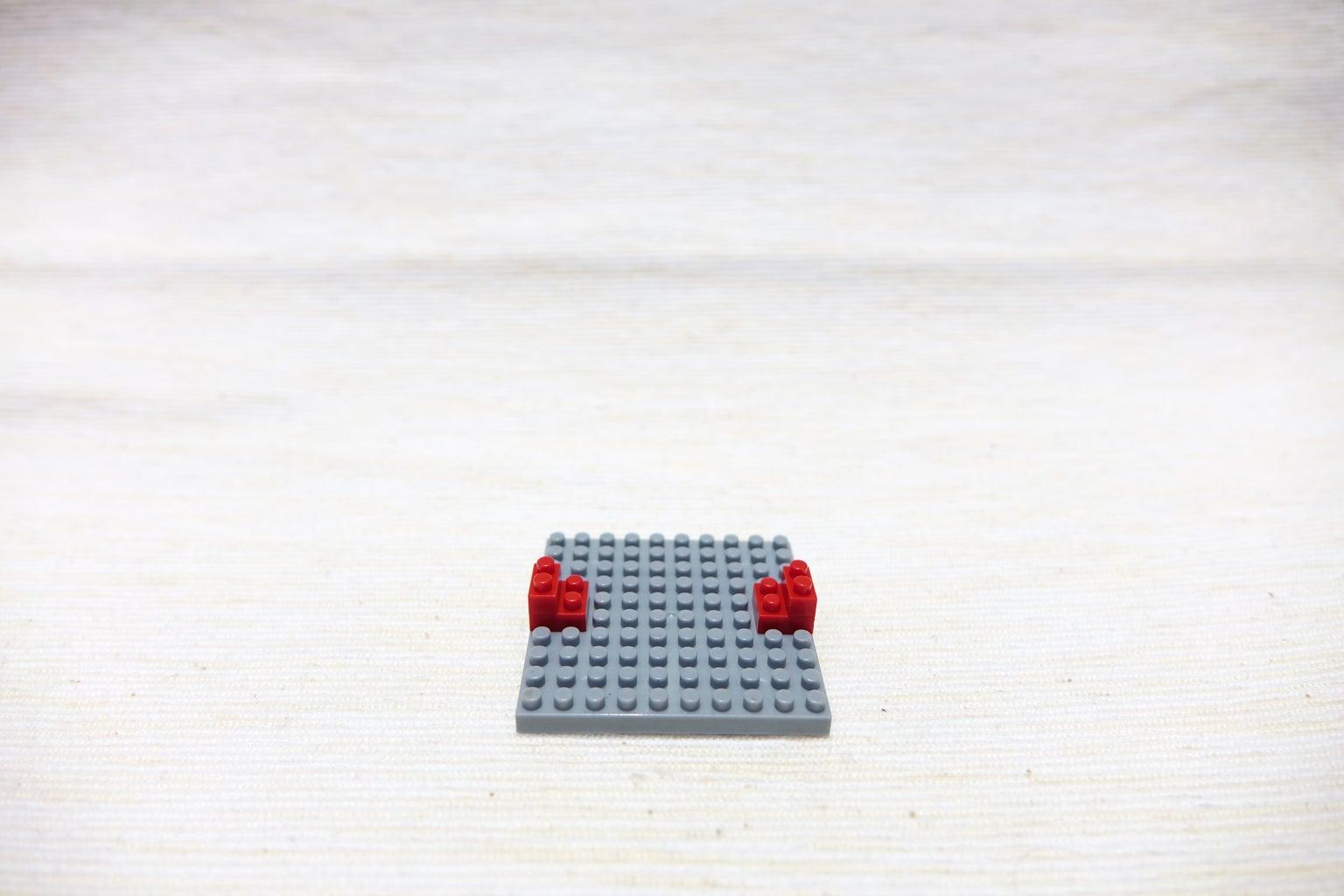 Red Block 1*2, 1*2