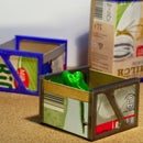 cow  boxes - recycle the milk- cartonway