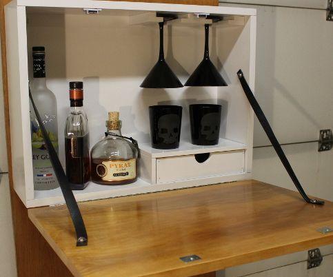 Make a Wall Mounted Bar