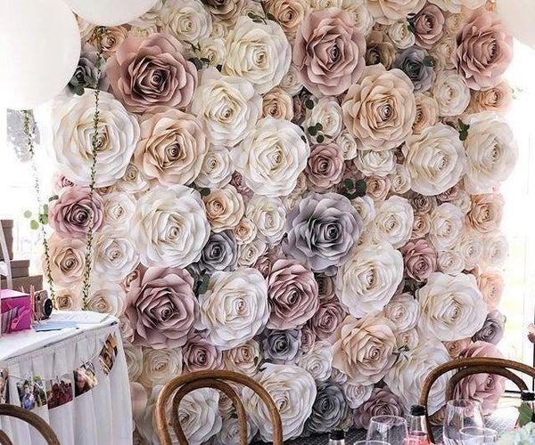 Paper Flower Home Decor