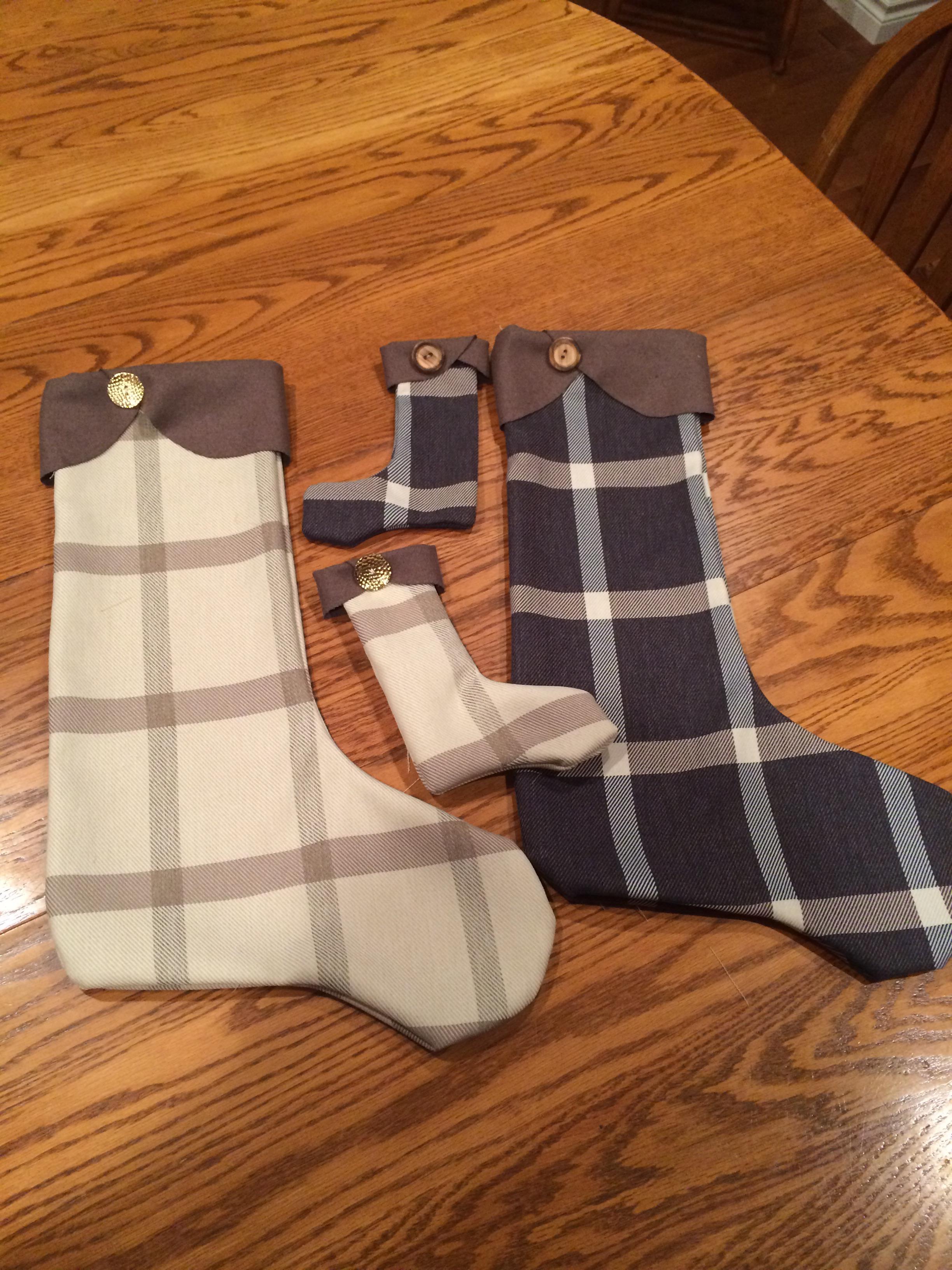 DIY Custom Holiday Stockings