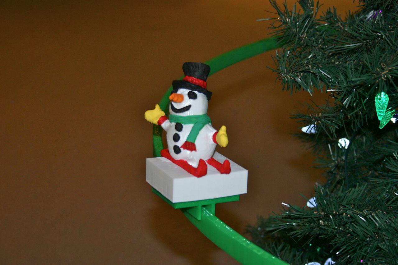 Christmas Tree Monorail