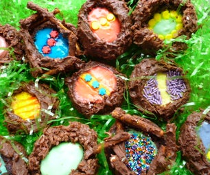 Nested Pudding Eggs
