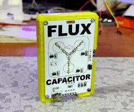 Flux Capacitor PCB Badge