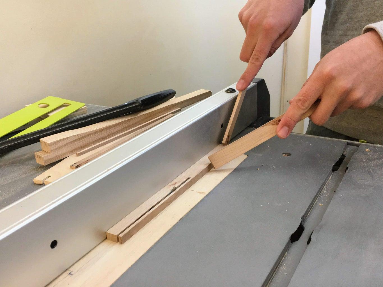 Cut Frame Parts