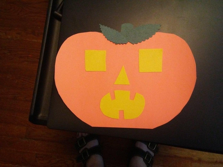 Simple Paper Jack 'O' Lanterns