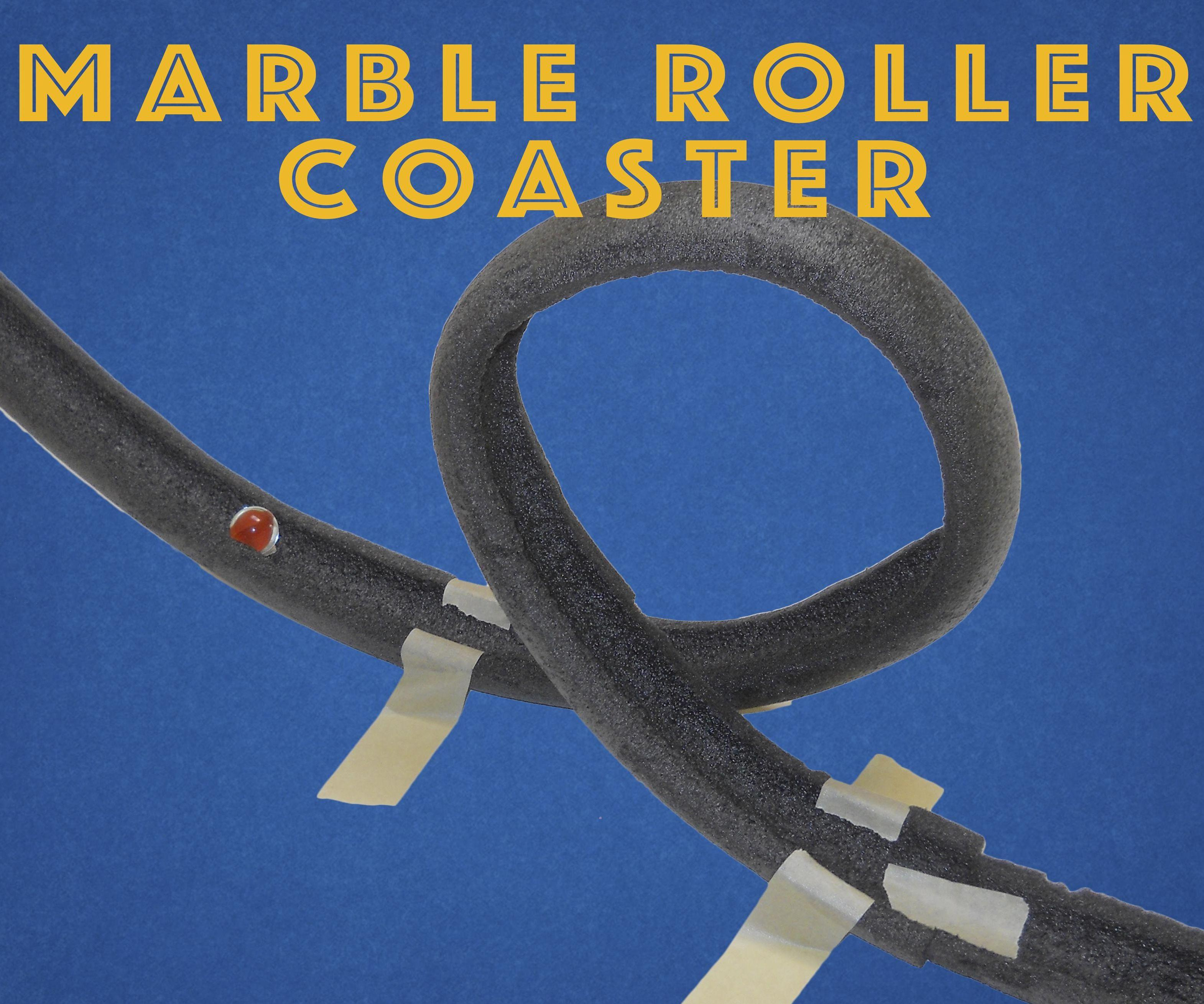 Marble Roller Coaster 9 Steps With Pictures Instructables