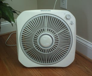 How to Turn on a Box Fan